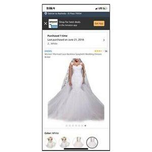DreamStyle Mermaid Style Wedding Dress
